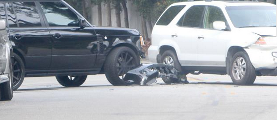 Beckham and son brooklyn involved in a car accident want for Motor vehicle in brooklyn
